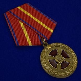 Медаль Министерства Юстиции За усердие 1 степени - общий вид