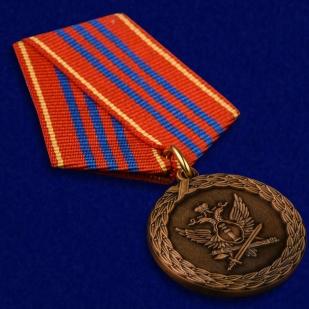 Медаль Минюста России За службу 3 степени - общий вид