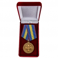 Медаль Минюста России За укрепление уголовно-исполнительной системы 1 степени - в футляре