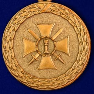 """Медаль Минюста """"За доблесть"""" (2 степень) - аверс"""