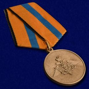 Медаль МО РФ Участнику борьбы со стихией на Амуре - общий вид