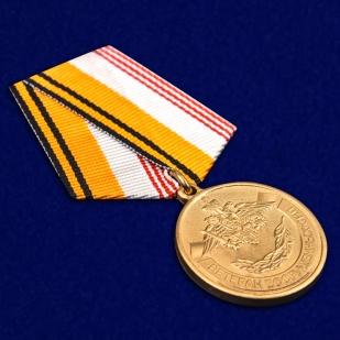 Медаль МО РФ Ветеран ВС - общий вид