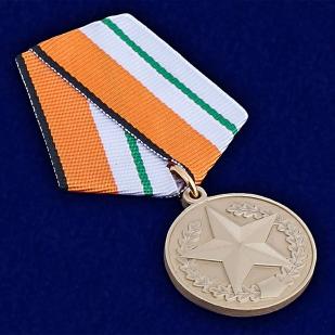 Медаль МО РФ За отличие в соревнованиях - общий вид
