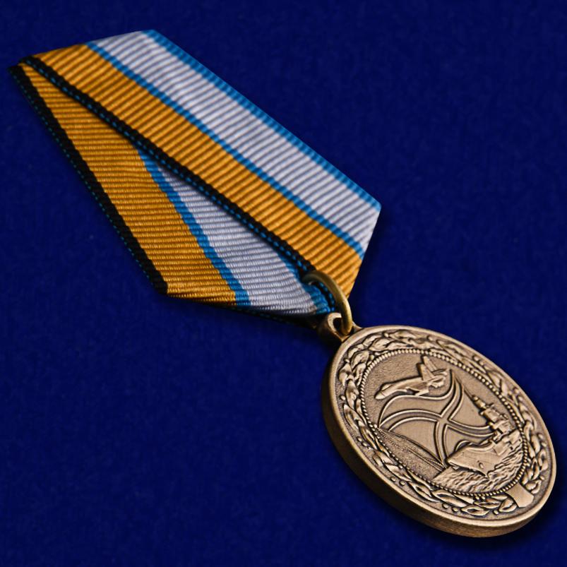 Медаль МО РФ За службу в морской авиации - общий вид