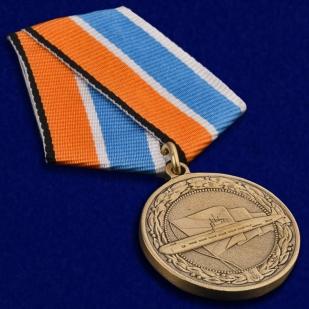 Медаль МО РФ За службу в подводных силах - общий вид