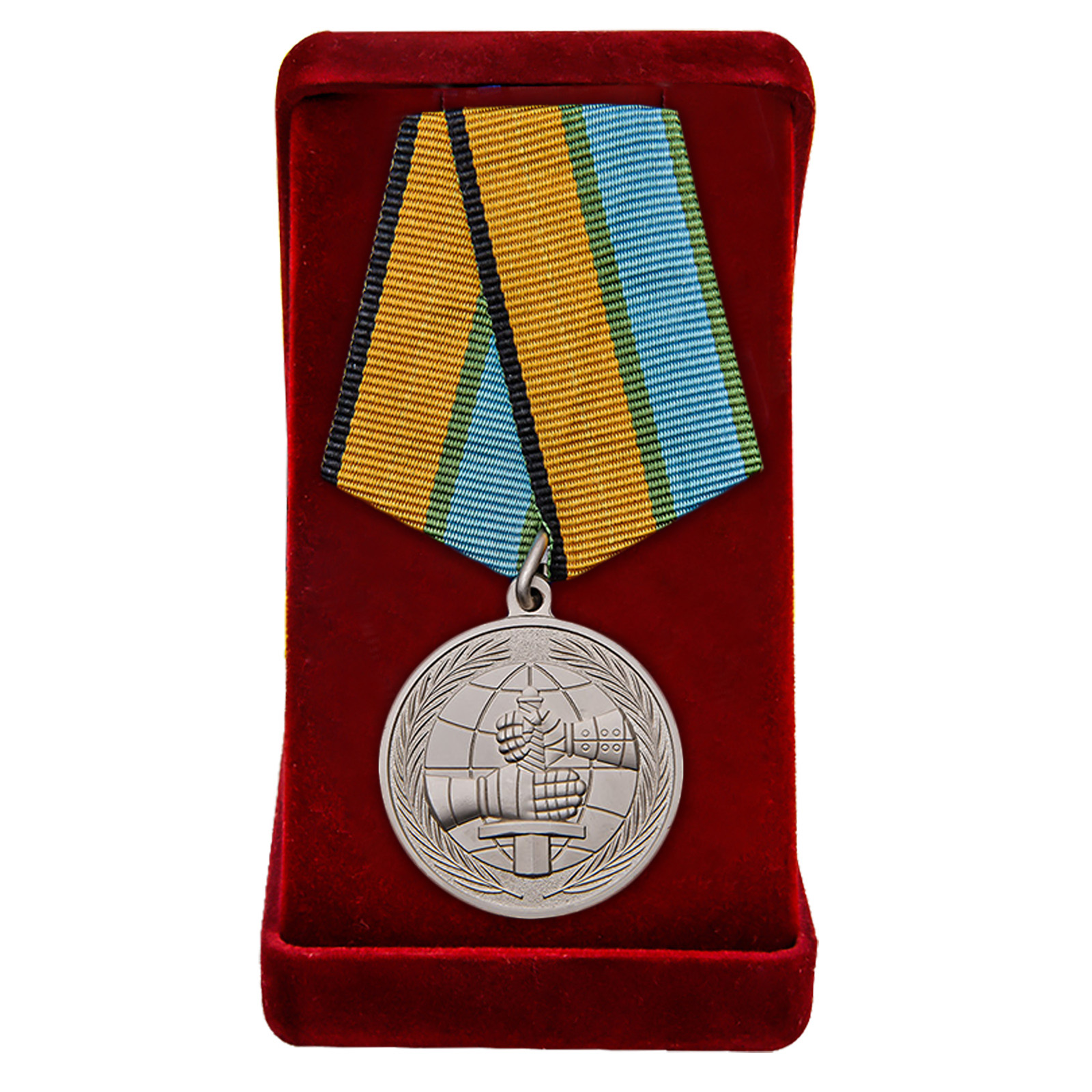 Купить медаль МО РФ За вклад в развитие международного военного сотрудничества с доставкой