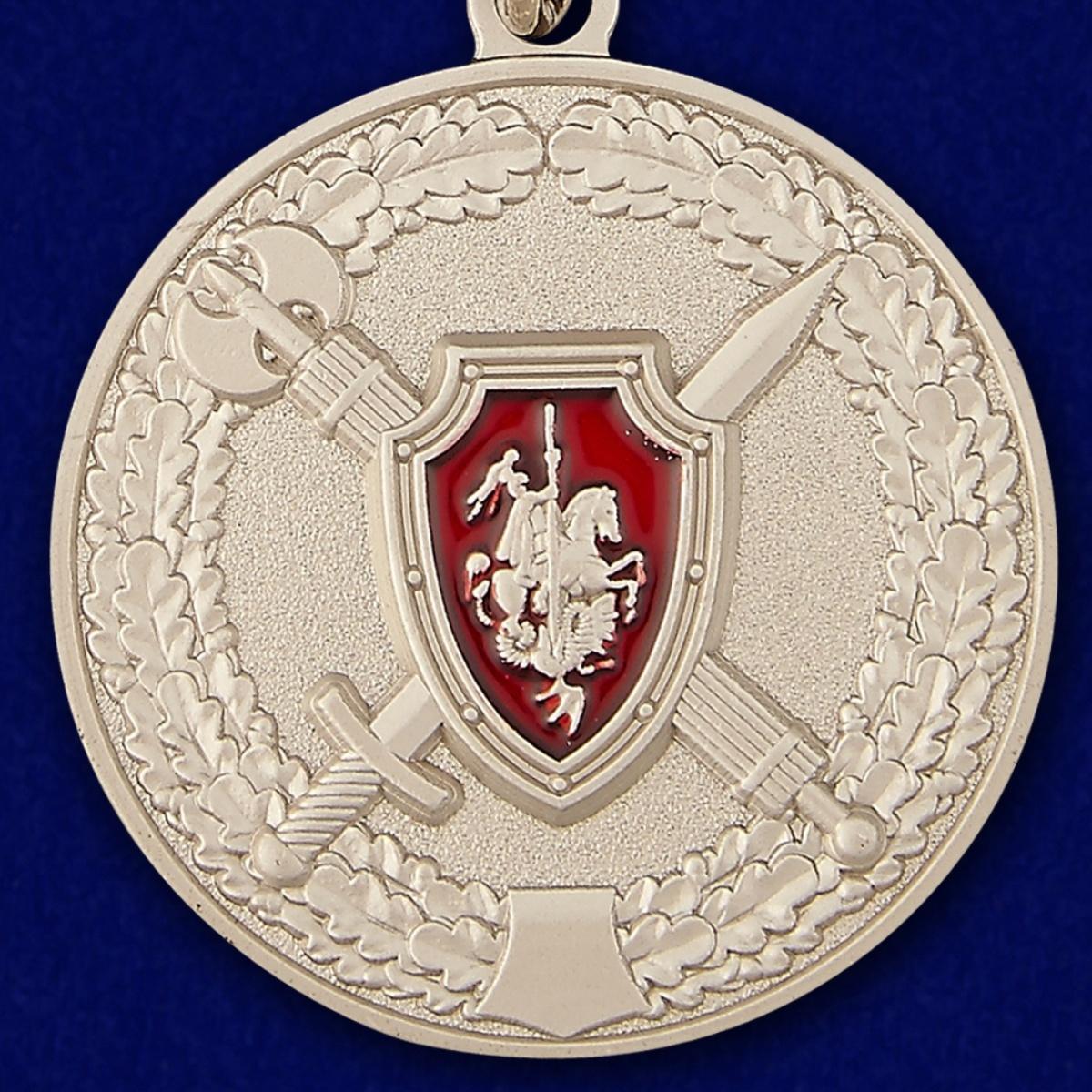 Медаль МО России За заслуги в обеспечении законности и правопорядка