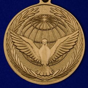 """Купить медаль МО """"Участнику миротворческой операции"""" в наградном футляре"""