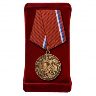 """Медаль """"Москве - 850 лет"""" в футляре"""