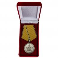 Медаль МВД РФ За разминирование - в футляре