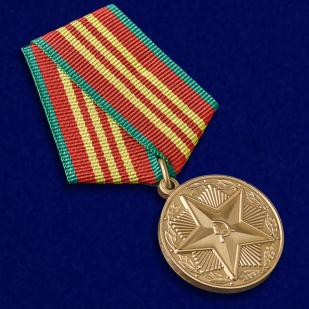 Медаль  МВД СССР За безупречную службу 3 степени - общий вид