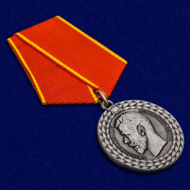 Медаль Николая II За беспорочную службу в полиции - общий вид