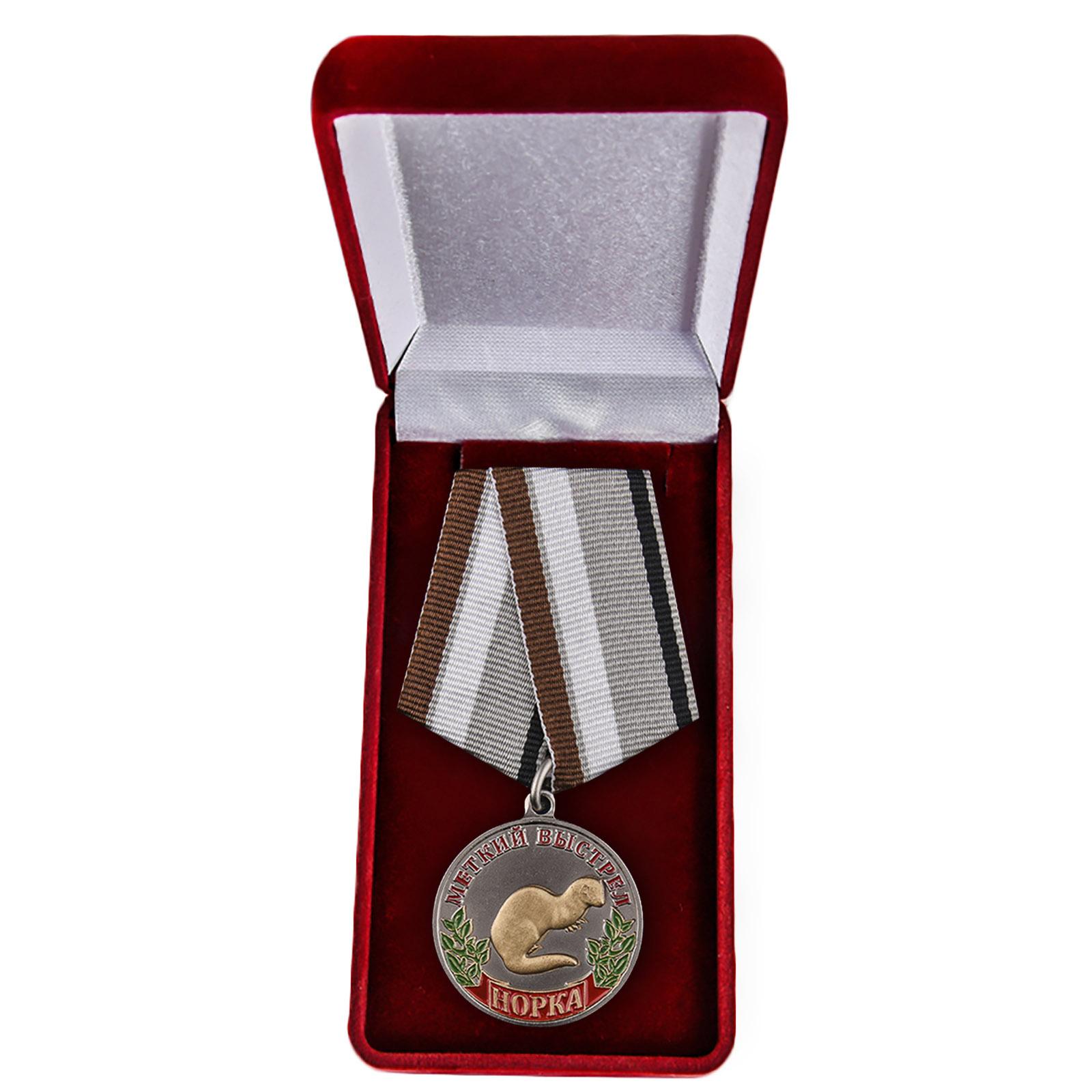 """Медаль """"Норка"""" купить в Военпро"""