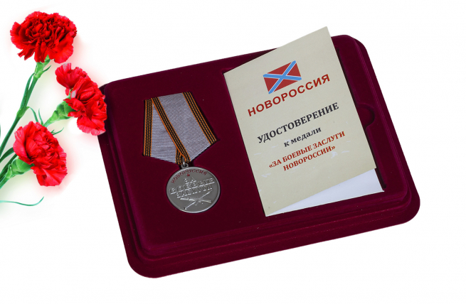 Медаль Новороссии За боевые заслуги