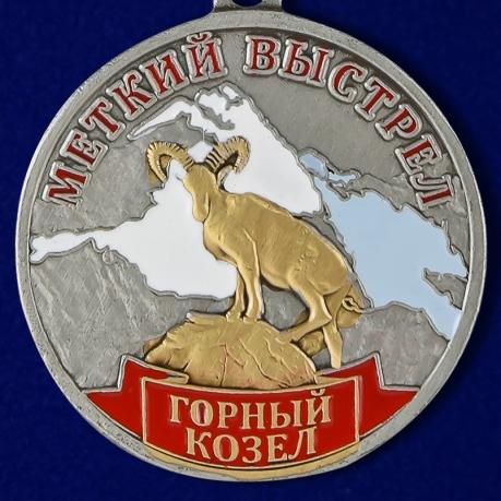 """Медаль """"Горный козел"""" (Меткий выстрел)"""