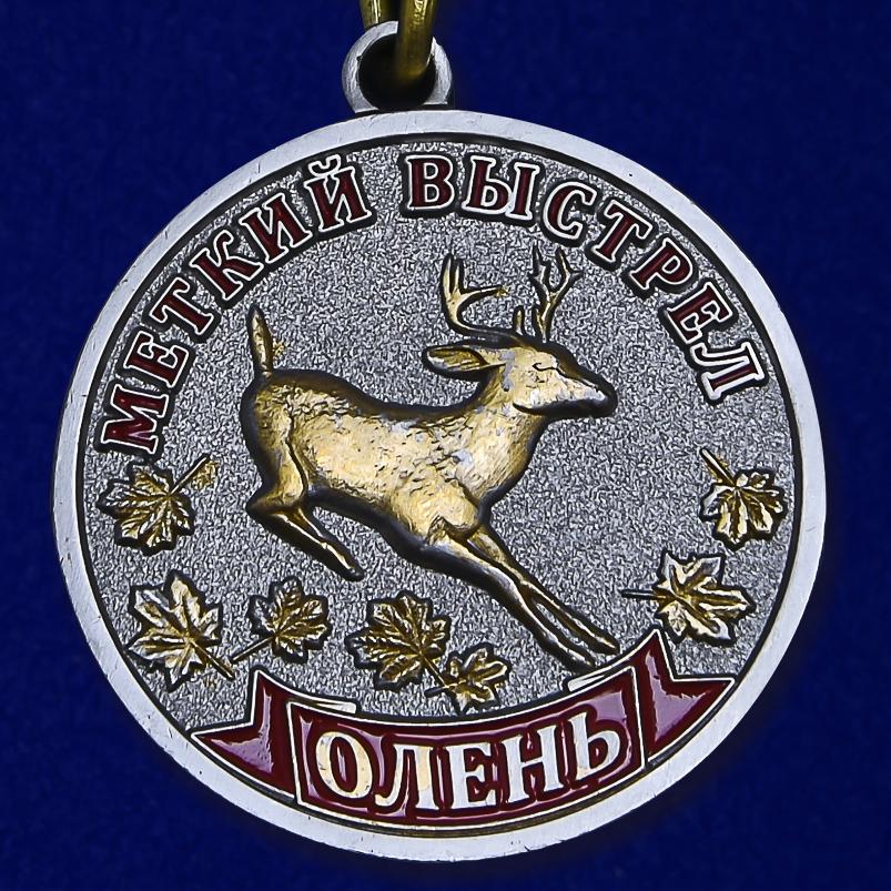 """Медаль """"Олень"""" - аверс"""