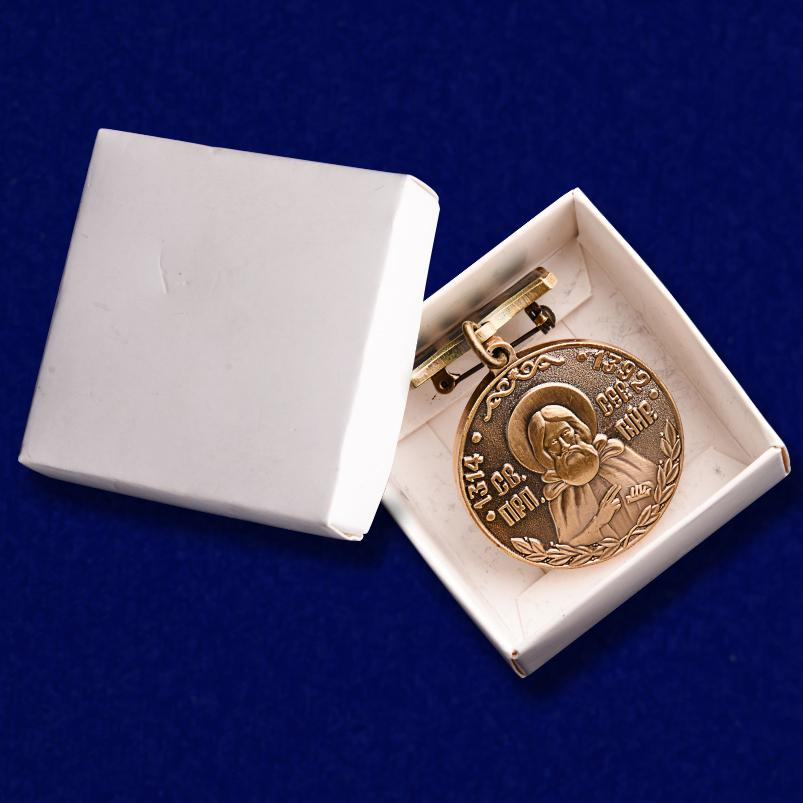 Медаль преподобного Сергия Радонежского 1 степени с доставкой