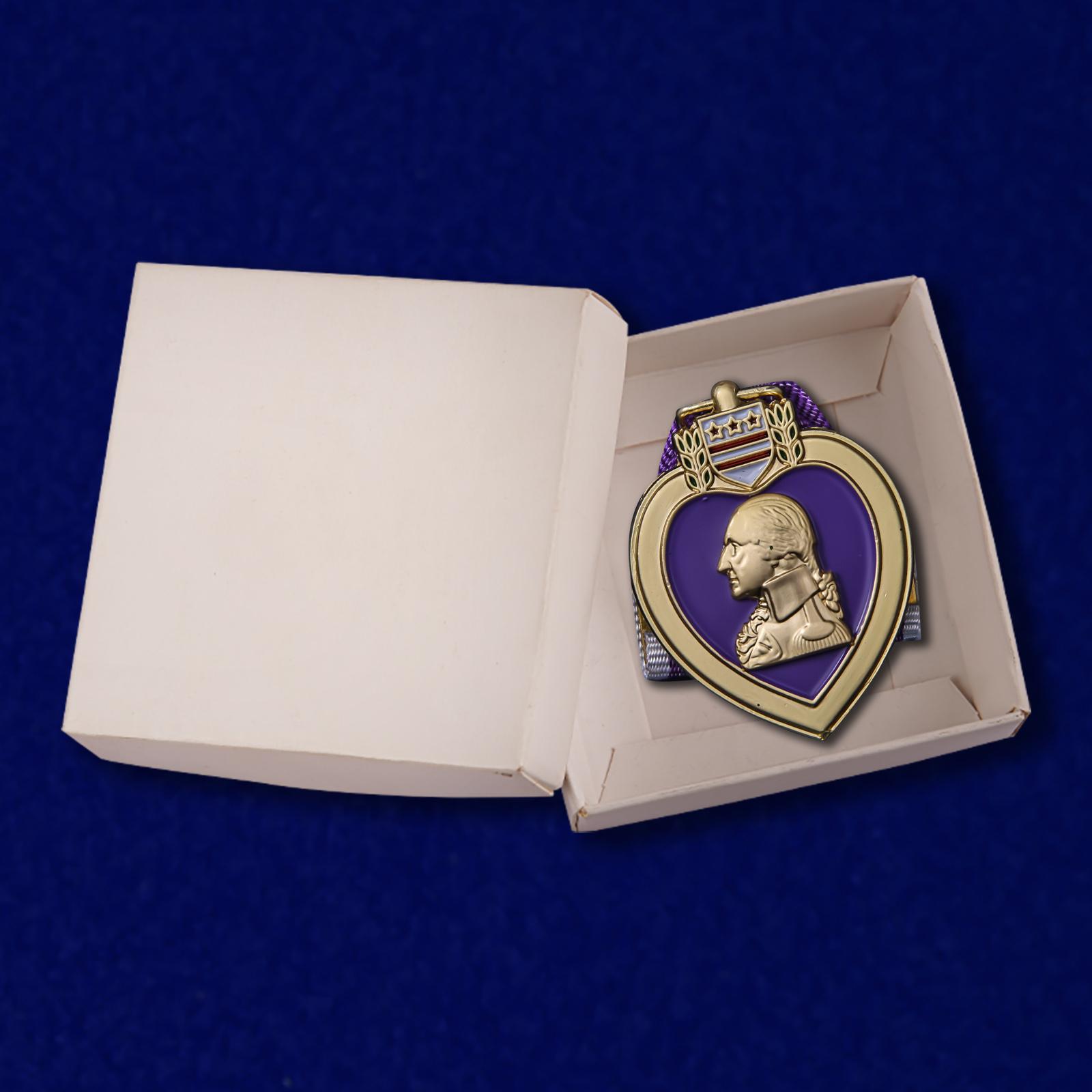 Медаль Пурпурное сердце (США) с доставкой