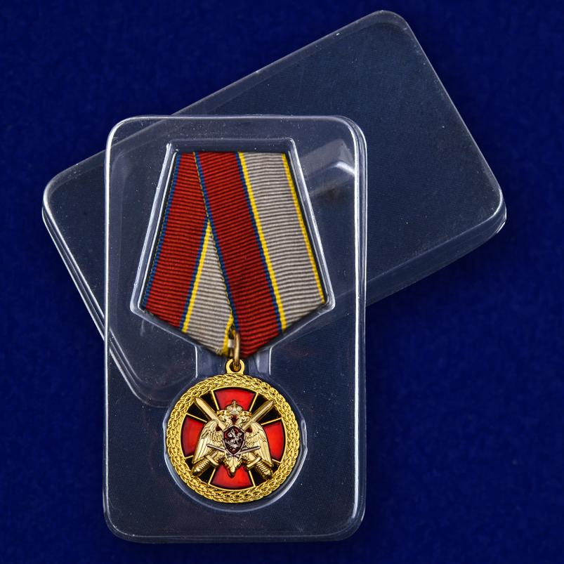 """Медаль Росгвардии """"За боевое отличие"""" с доставкой"""