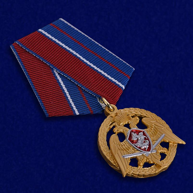 """Медаль Росгвардии """"За проявленную доблесть"""" 1 степени - общий вид"""