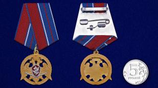 """Медаль Росгвардии """"За проявленную доблесть"""" 1 степени - сравнительный вид"""