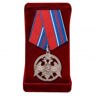 """Медаль Росгвардии """"За проявленную доблесть"""" 2-й степени"""