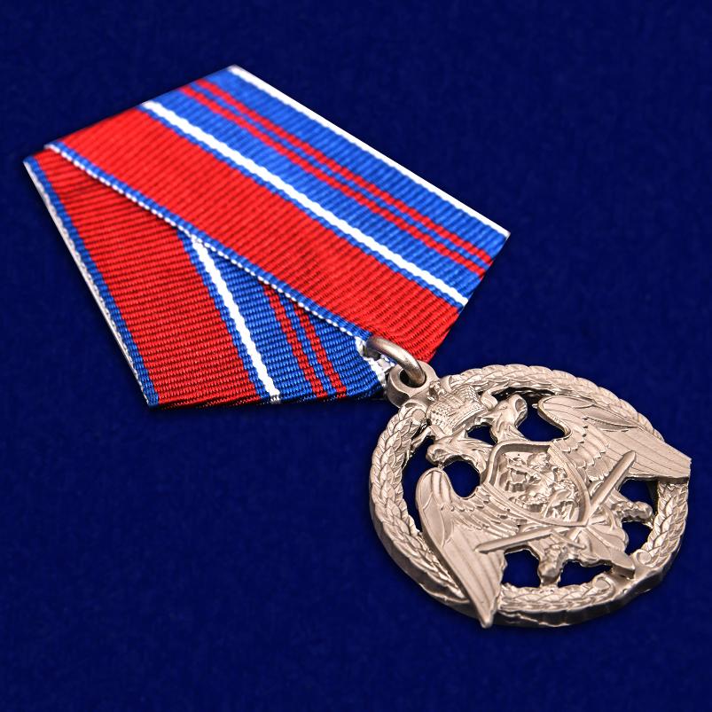"""Медаль Росгвардии """"За проявленную доблесть"""" 2 степени - общий вид"""