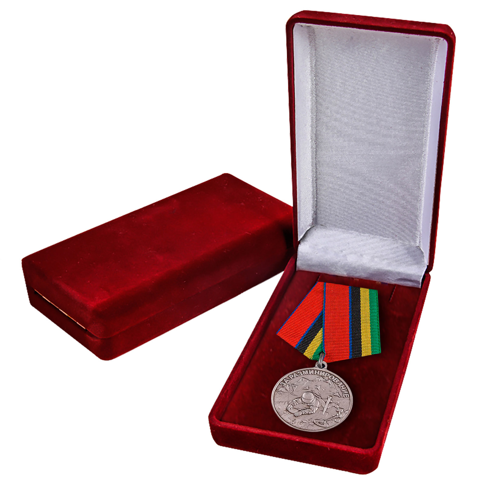"""Медаль Росгвардии """"За разминирование"""" заказать в Военпро"""