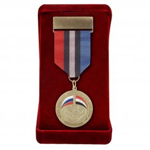 """Медаль """"Россия-Сирия"""" в футляре"""