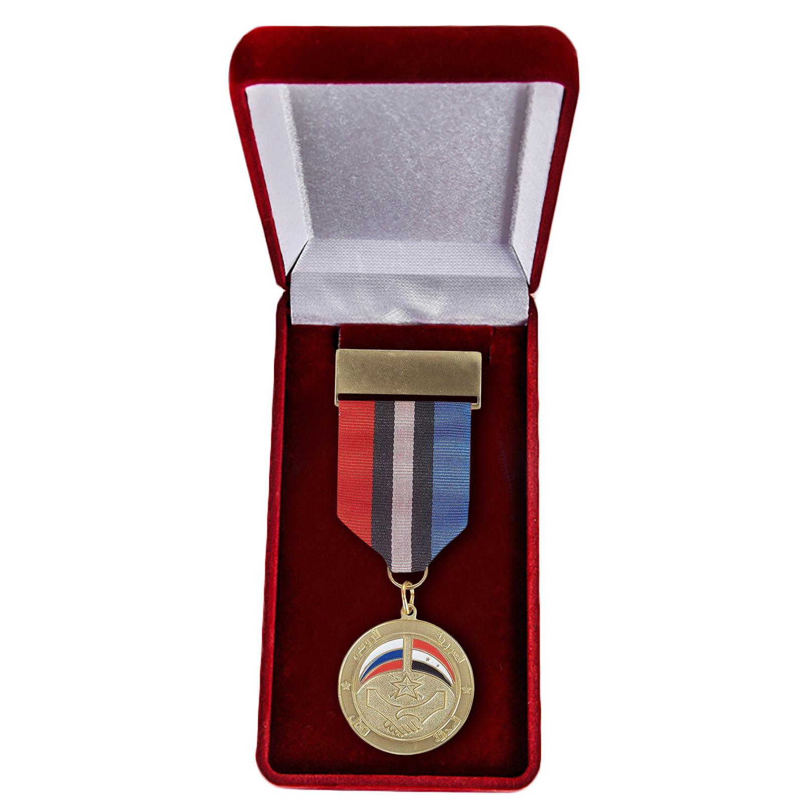 """Медаль """"Россия-Сирия"""" купить в Военпро"""