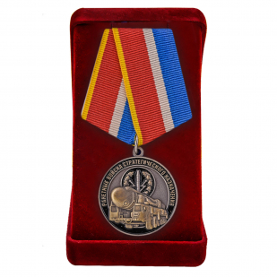 Медаль РВСН в футляре