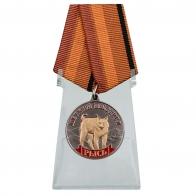 Медаль Рысь (Меткий выстрел) на подставке