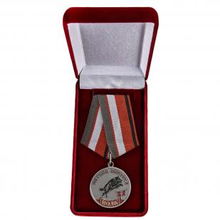 """Медаль """"Волк"""" в футляре"""