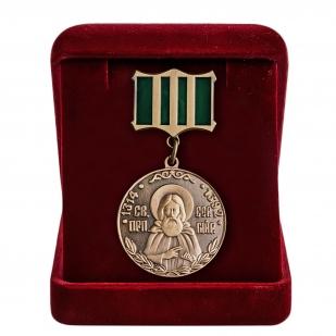 Медаль Сергия Радонежского в футляре