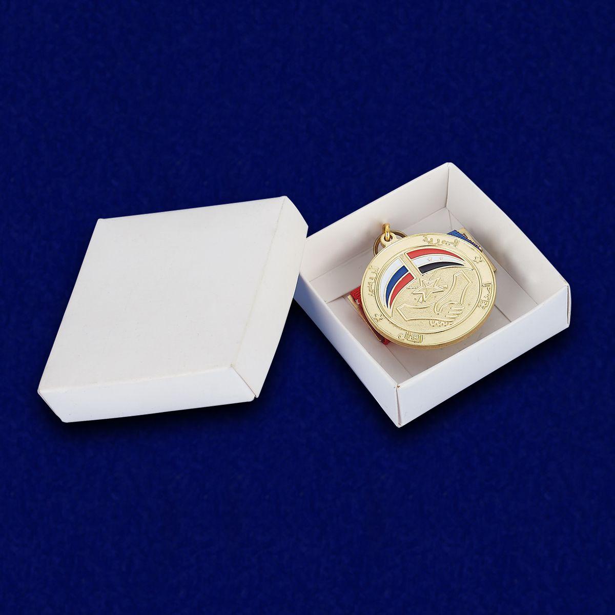 Медаль Сирийско-российская дружба