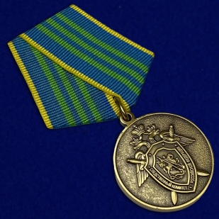 Медаль СК РФ За безупречную службу 3 степени - общий вид