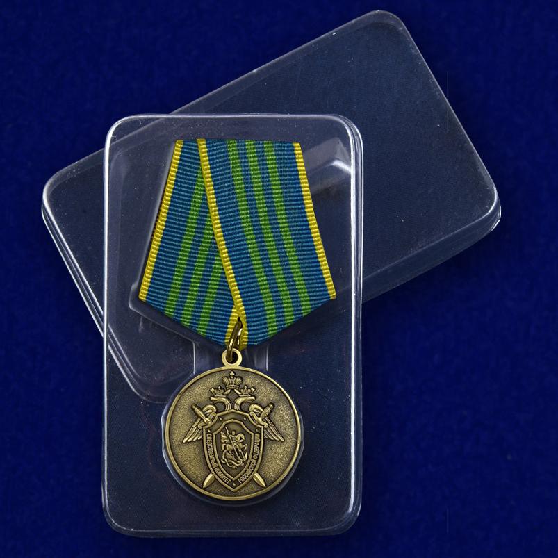 Медаль За безупречную службу в СК РФ 3 степени - в пластиковом футляре