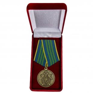 Медаль СК РФ За безупречную службу 3 степени - в футляре