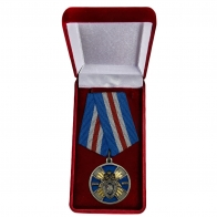 Медаль СК России Доблесть и отвага - в футляре