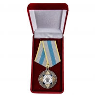 Медаль СК России За верность служебному долгу - в футляре