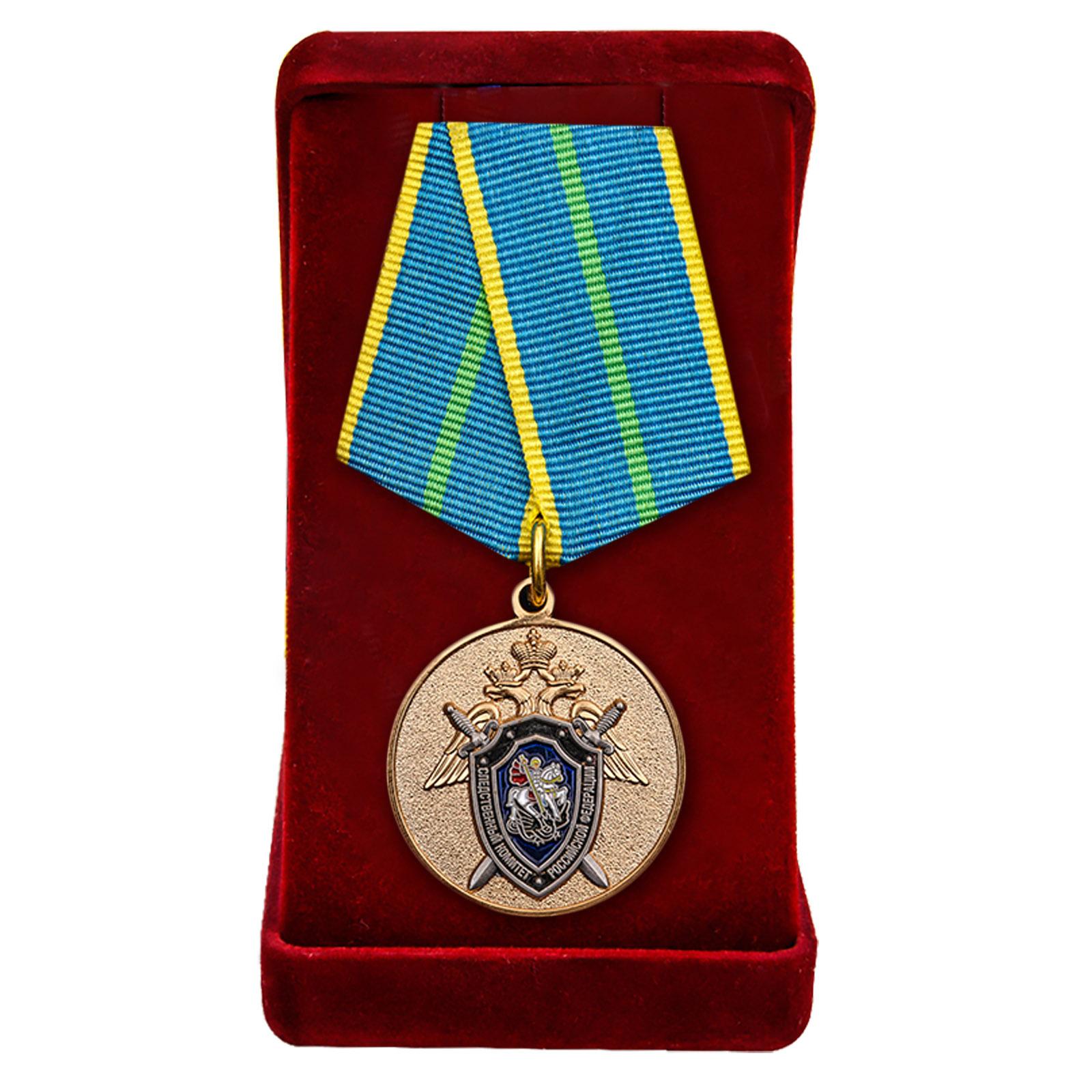 Купить медаль СК России За безупречную службу 1 степени в подарок мужчине