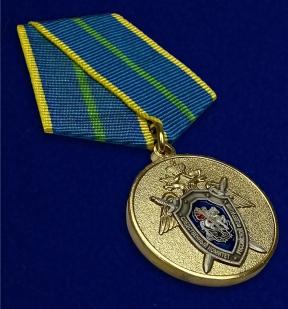 Медаль СК России За безупречную службу 1 степени - общий вид