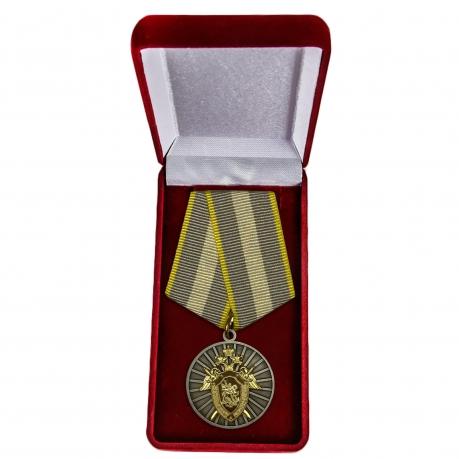Медаль СК России За отличие - в футляре