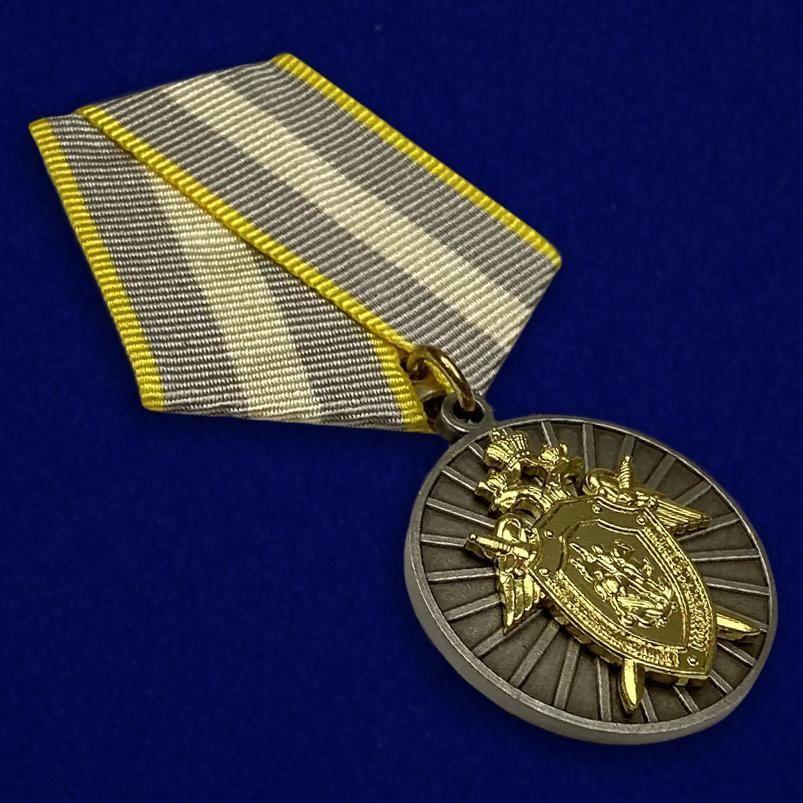 Медаль СК России За отличие - общий вид