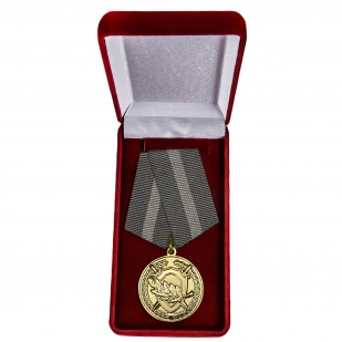 Медаль СК России За содействие - в футляре