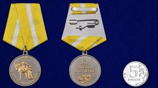 Медаль Слава женщинам-казачкам - сравнительный вид
