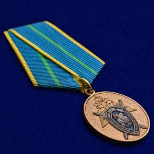 """Медаль Следственного комитета """"За безупречную службу"""" 1 степени в футляре высокого качества"""