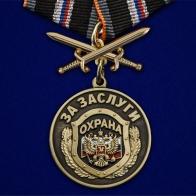 """Медаль """"За заслуги"""" Охрана"""