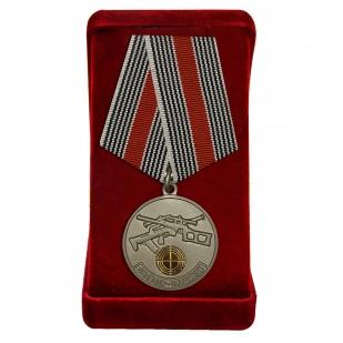 Медаль Снайперу Спецназа в футляре