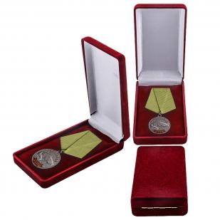 """Медаль """"Сом"""" в футляре"""